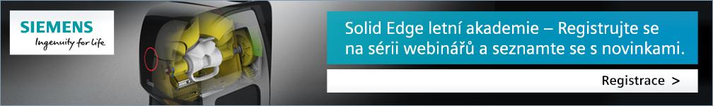 Siemens - SolidEdge (letní akademie)