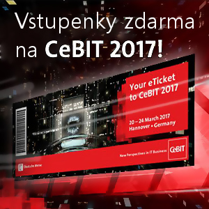 CeBIT 2017 - vstupenky