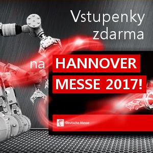 HANNOVER MESSE 2017 - vstupenky